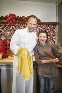 Sfoglina con lo chef Trabocchi a Washington