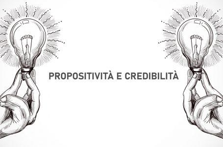 propositività e credibilità