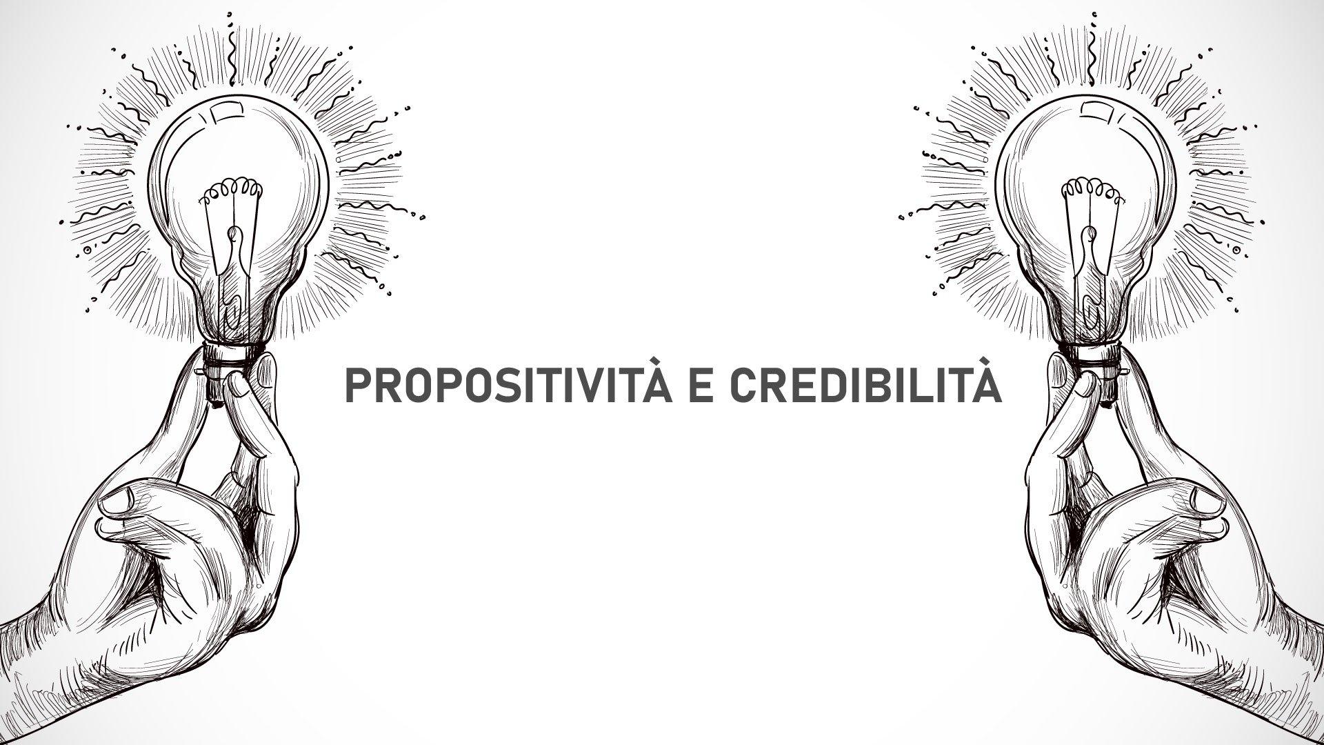 Uno spazio propositivo e credibile