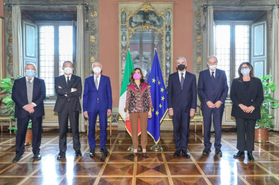 Il Presidente del Senato Casellati incontra i vertici di CNA, Confartigianato, Casartigiani
