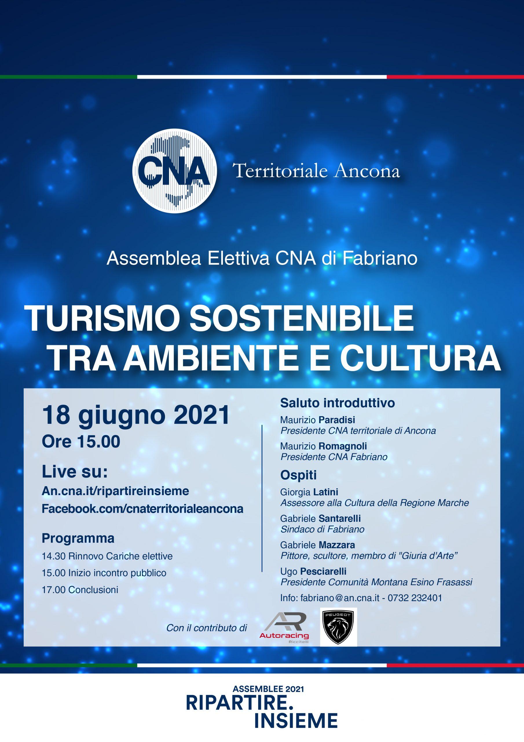 Il futuro turistico di Fabriano al congresso CNA
